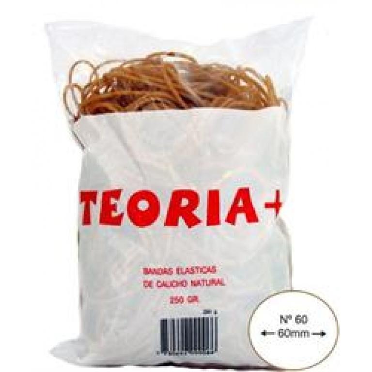 BANDAS ELASTICAS TEORIA+ Nº 60 BOLSA 250G