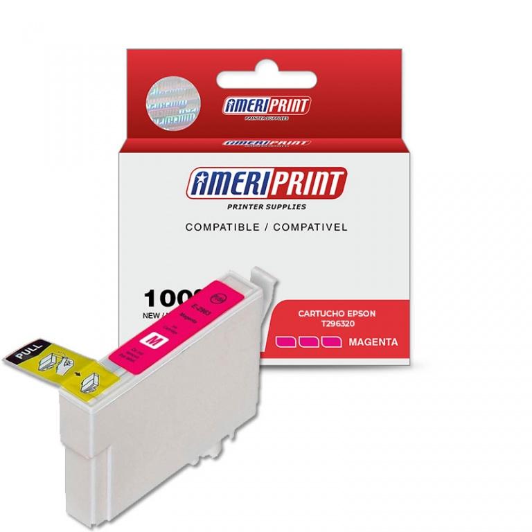 Cartucho compatible Ameriprint Epson T196 Magenta