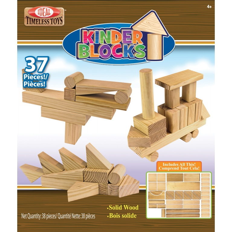 BLOCKS MADERA 37 PCS ALEX
