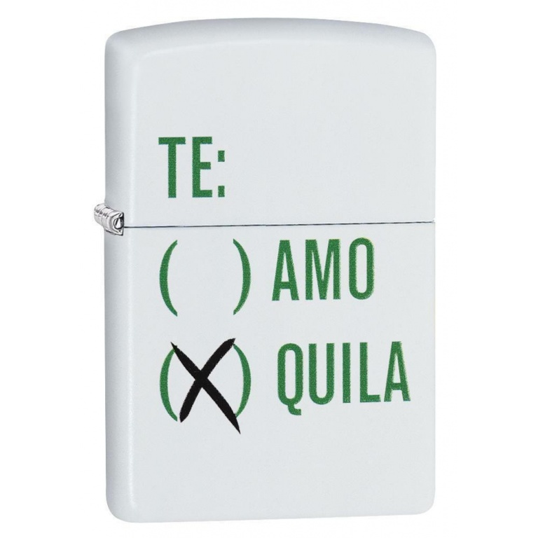 ENCENDEDOR ZIPPO TEQUILA