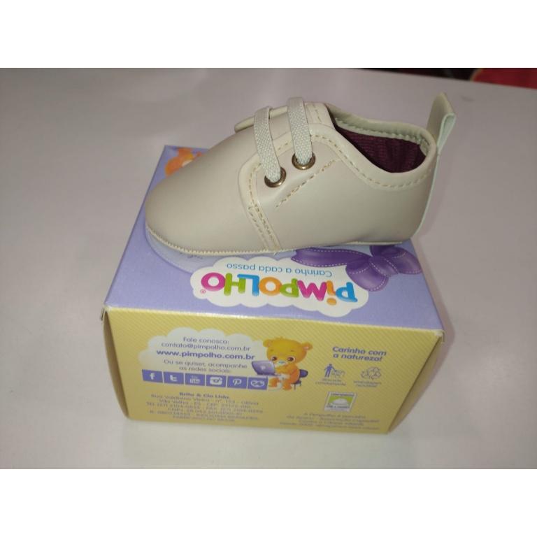 Pimpolho Zapato Beige C/elast 01 al 04 Talle 04
