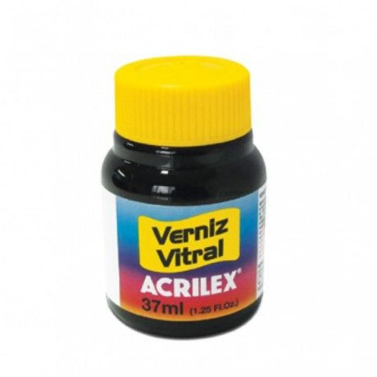 Barniz Vitral para Vidrio Acrilex Azul Turquesa 501