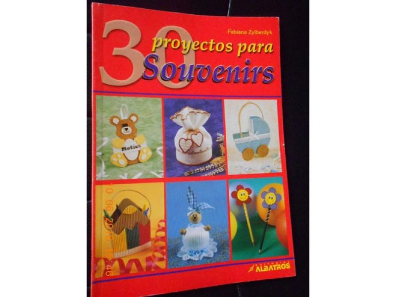 LIBRO 30 PROYECTOS PARA SOUVENIRS
