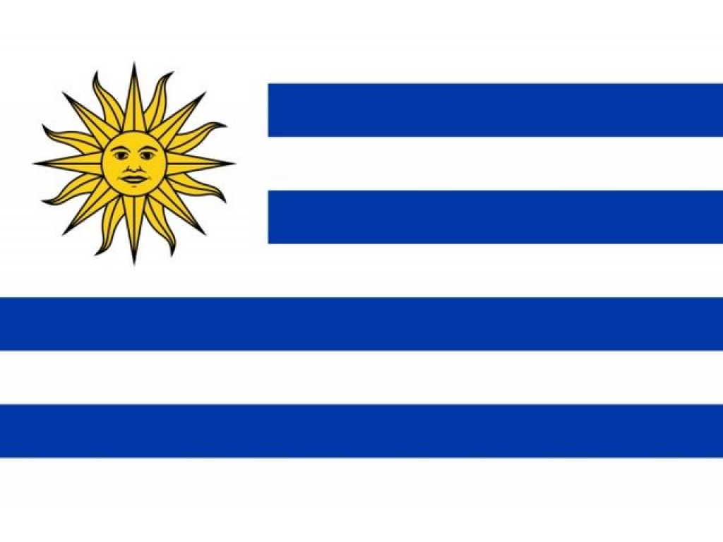Bandera Uruguay  Grande    90 X 150 cm