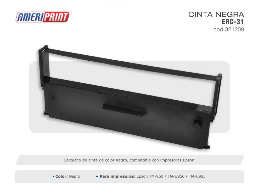 Ameriprint Cinta Impresora Epson Erc 31 Tm    930/950