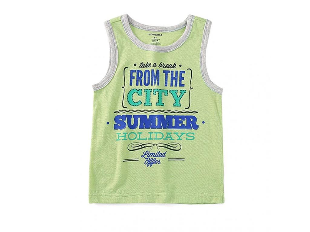 """Cheraa Musculos Verde """"Summer Holidays"""" 3T"""