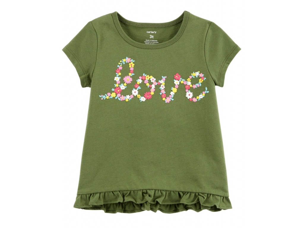 REMERA CARTERS ALGODON LOVE 3T