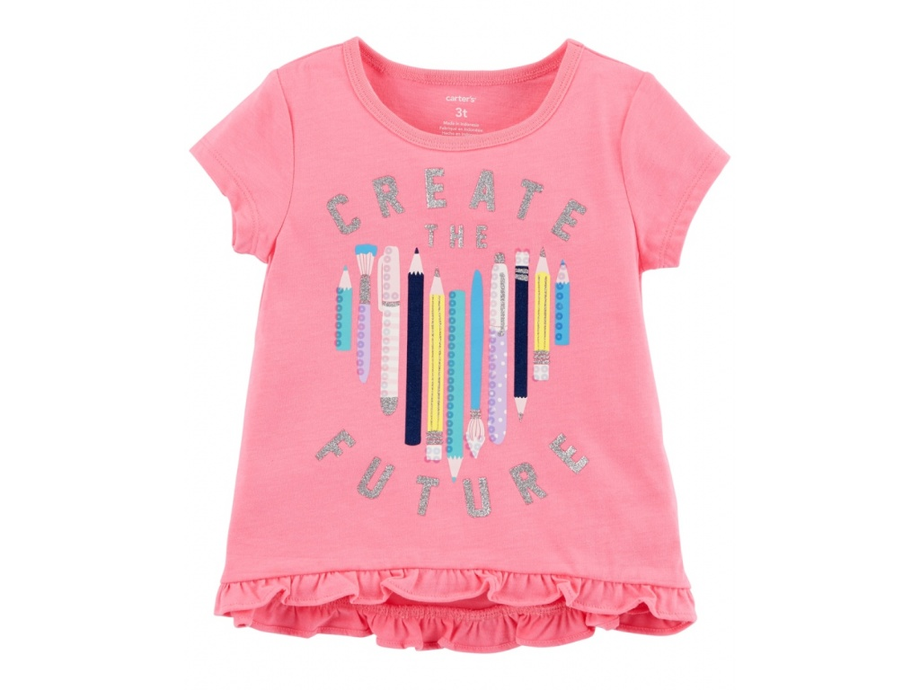 REMERA CARTERS MANGA CORTA CREATE FUTURE 12M