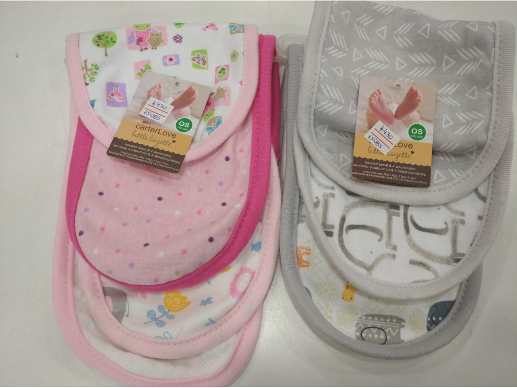 SET 3 BABITAS CARTERS LOVE ZS085