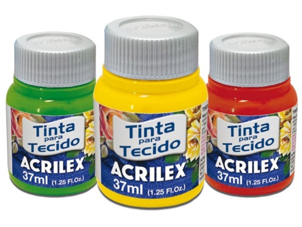 PINTURA PARA TELA ACRILEX AMARILLO LIMON 504